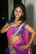 Young actress Jaya Harika in half saree-thumbnail-1