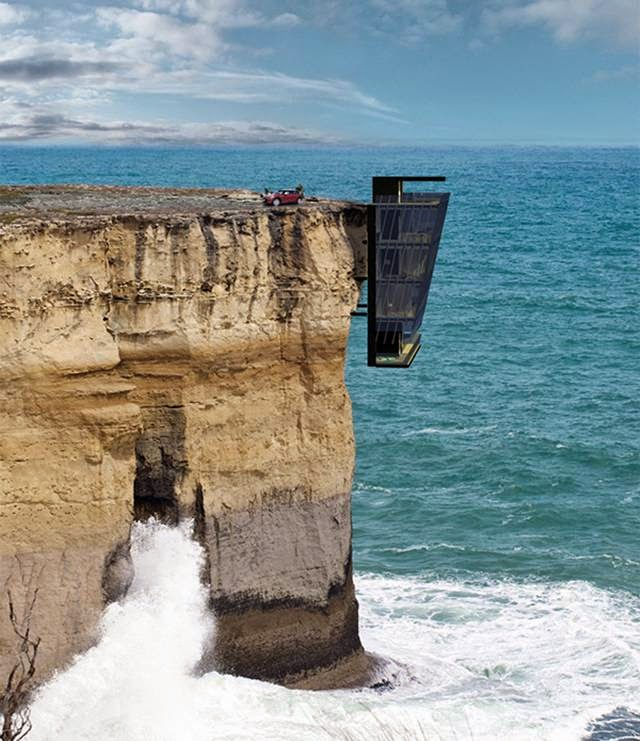 Cliff House, A House suspended on a Cliff