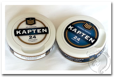 Kapten Original and White Portion Reviews