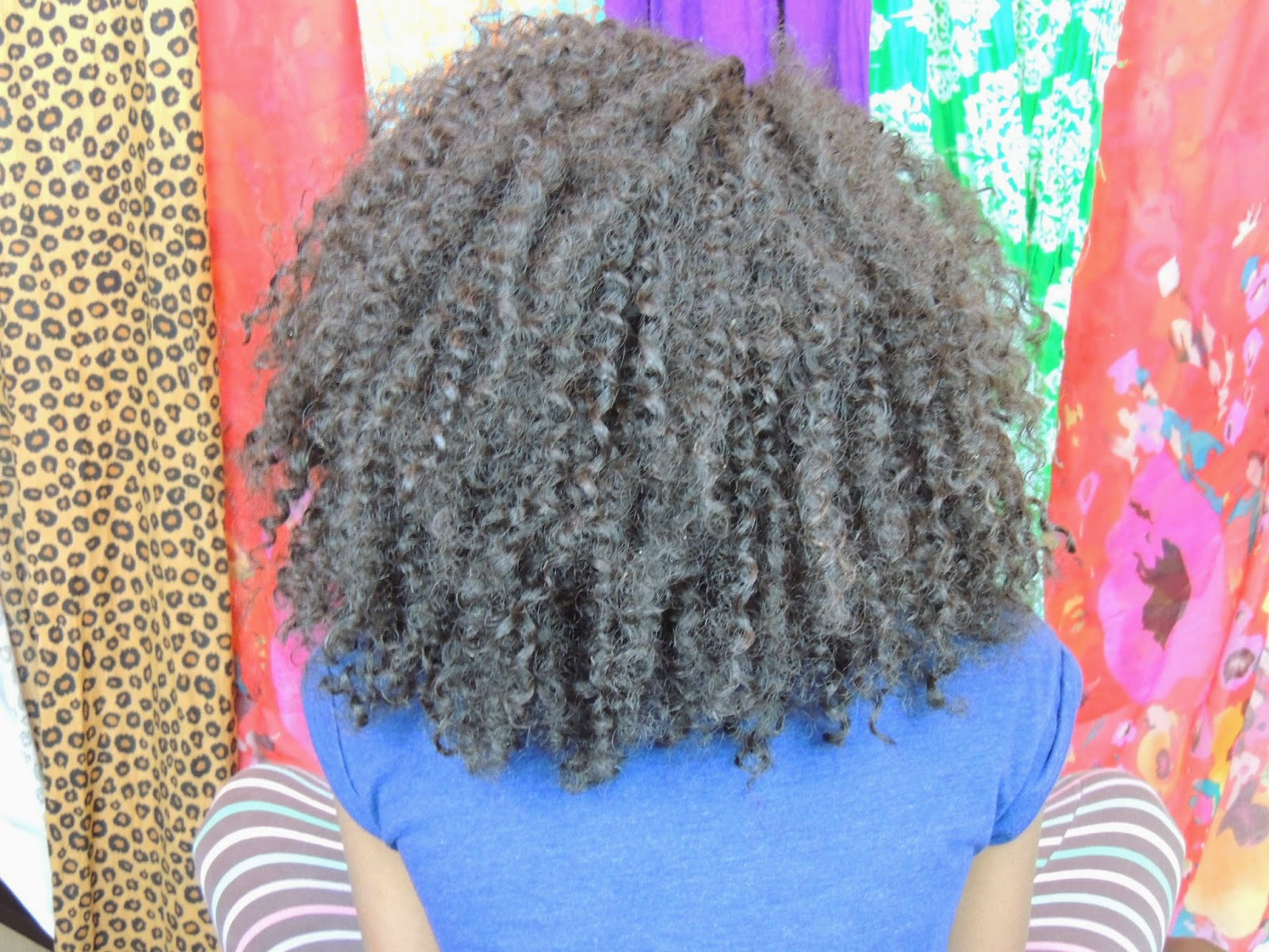 Crochet Braids with Gray Hair