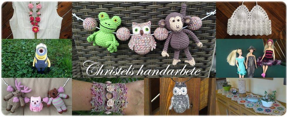 Christels handarbete