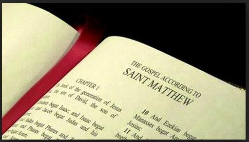 ternyata Injil Matius tidak ditulis oleh matius Murid yesus