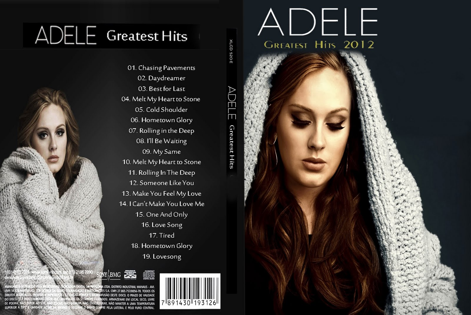 Adele Greatest Hits 2012