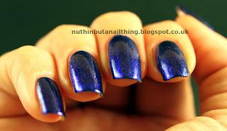 Accessorize Electric Blue nail polish