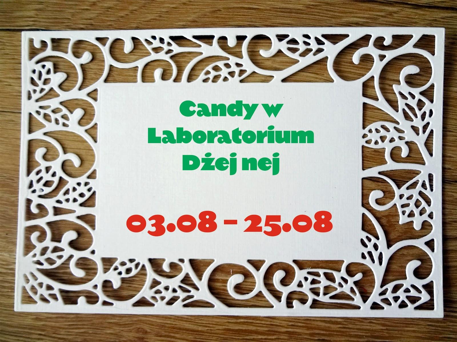Candy w Laboratorium Dżej nej