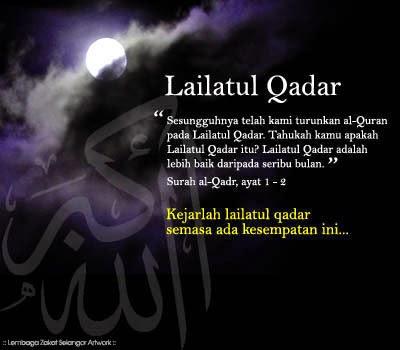 Malam Lailatul Qadar dalam Agama Islam