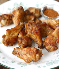Spicy szechuan chicken wings recipe