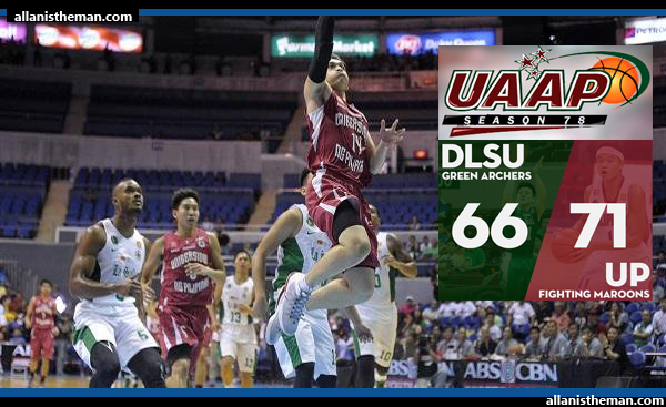 UAAP 78: UP shocks La Salle for first 2-0 start in 10 years