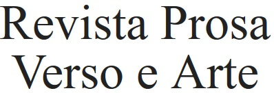 Revista Prosa Verso e Arte