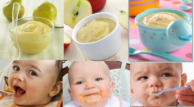 6 papillas de frutas para bebes frutas verduras beneficios propiedades y usos - Papillas para bebes de 6 meses ...