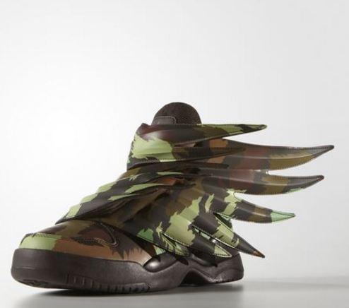 Scarpe Da 3 Ginnastica Tossicodipendente: Jeremy Scott X Adidas Wings 3 Da Sauvage Mimetico Scarpe 96aa49