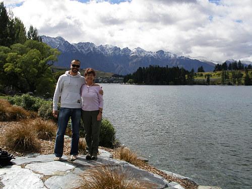 Con el visado de turista de Nueva Zelanda podemos visitar el país. En la foto, Queenstown