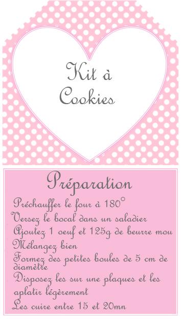 Mademoiselle Sab DIY Kit Cookies
