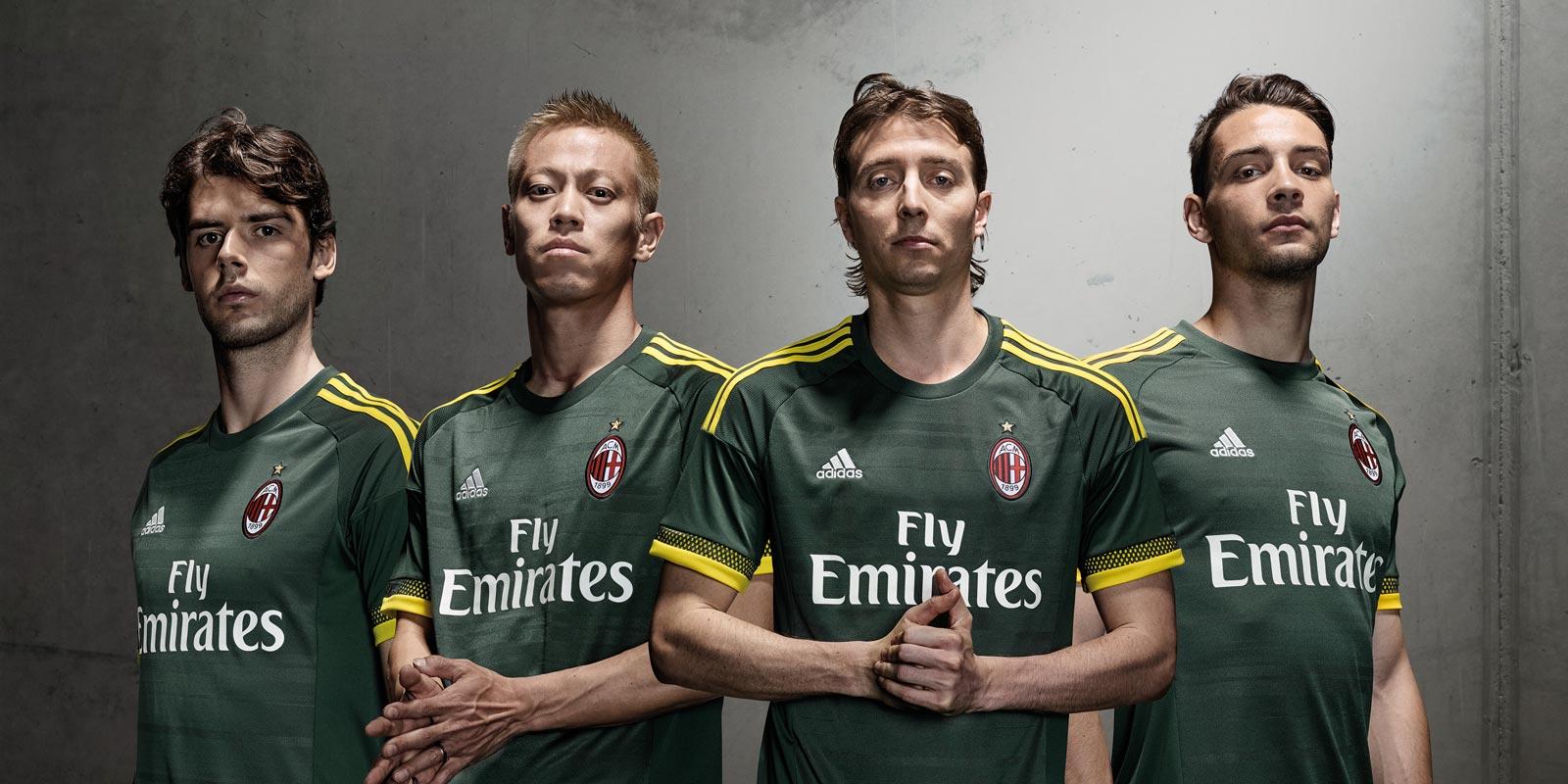 trop restaurant de jordan - AC Milan 15-16 Kits Revealed - Footy Headlines