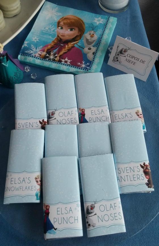 imagen_frozen_cumpleaños_casa_niña_azul_hielo_organizar_burgos_bilbao_chocolatinas