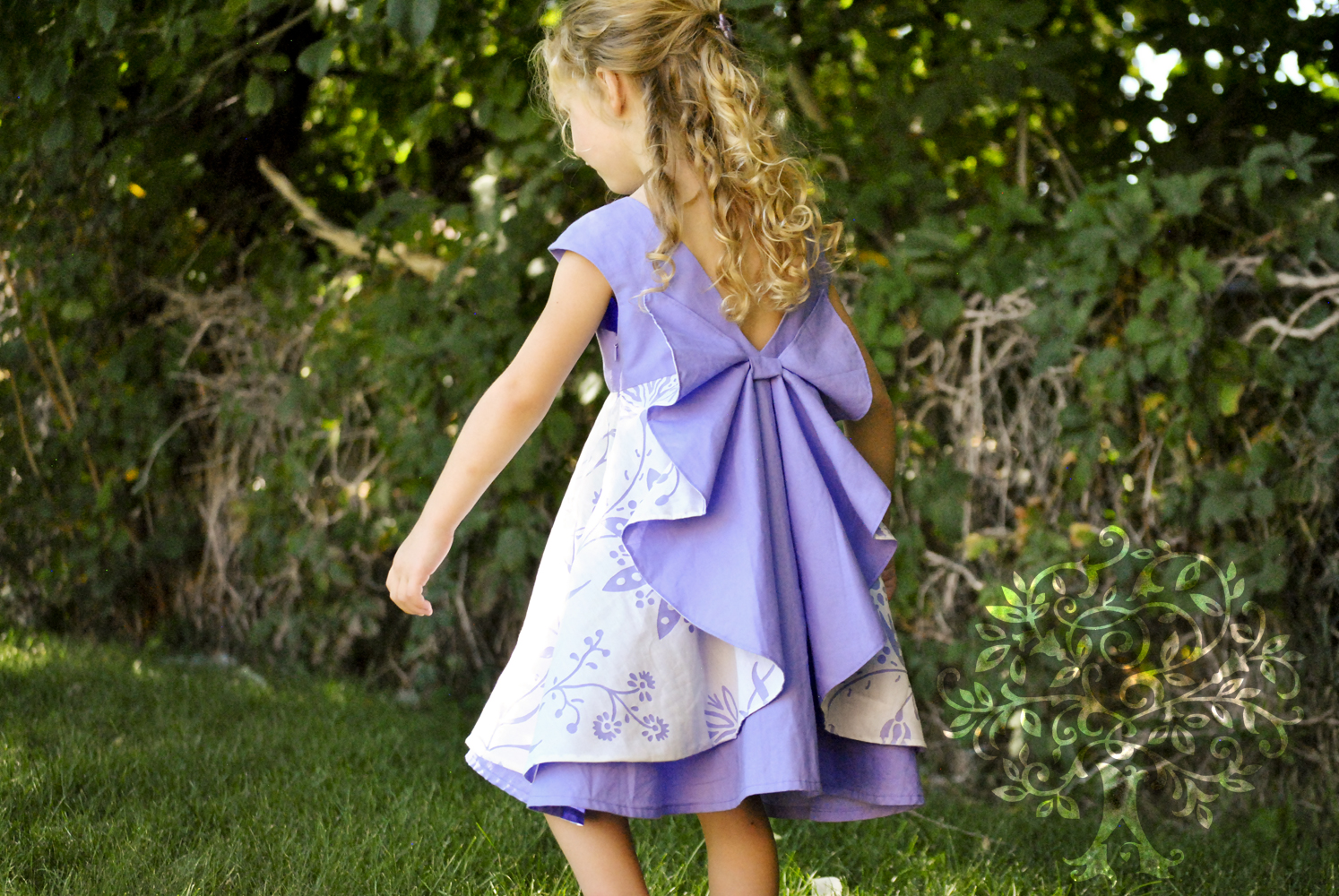 The dress garden - It Was Hard For Me To Surrender Because Dressing My Little Girl In Pinks And Purples Everyday Is Not My Thing Pretty Much All The Dresses I Make Or