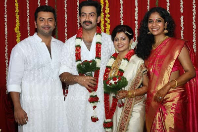 TAGS Poornima Indrajith And Family Nayakan In Happy Husbands Wedding Photos Marriage