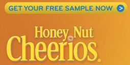 free sample honey nut cheerios