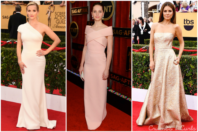 The Blush Blonde: SAG Awards 2015 Gowns