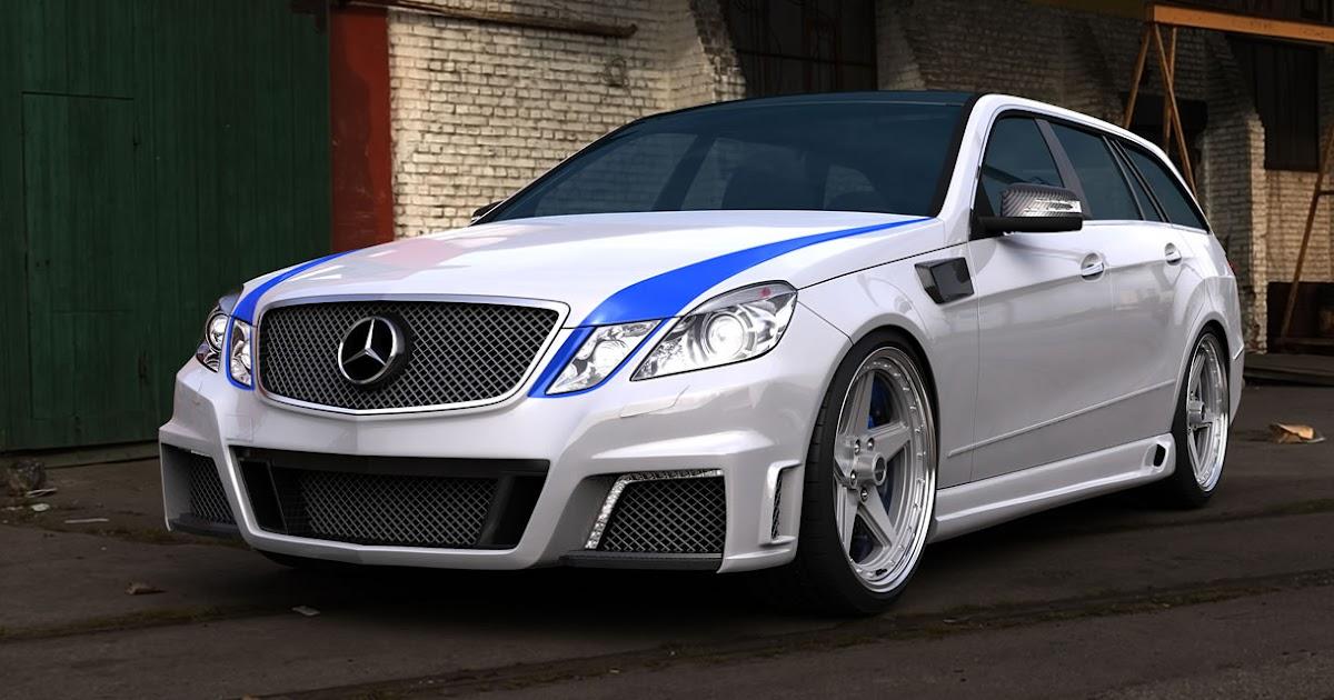 Mercedes benz e63 amg wagon tuned by gwa tuning w212 for Mercedes benz e63 amg wagon