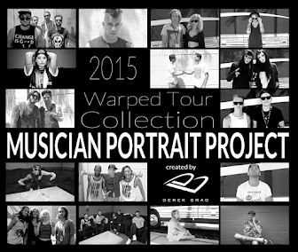 2015 Warped Tour Collection - Musician Portrait Project