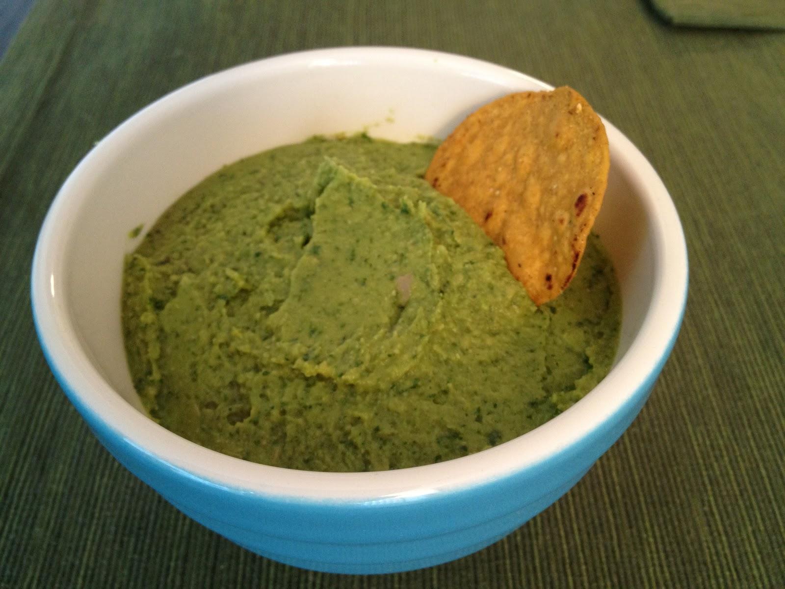Recipe Endeavors: Guacamole Hummus