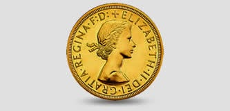 Queen Elizabeth coin portrait 1