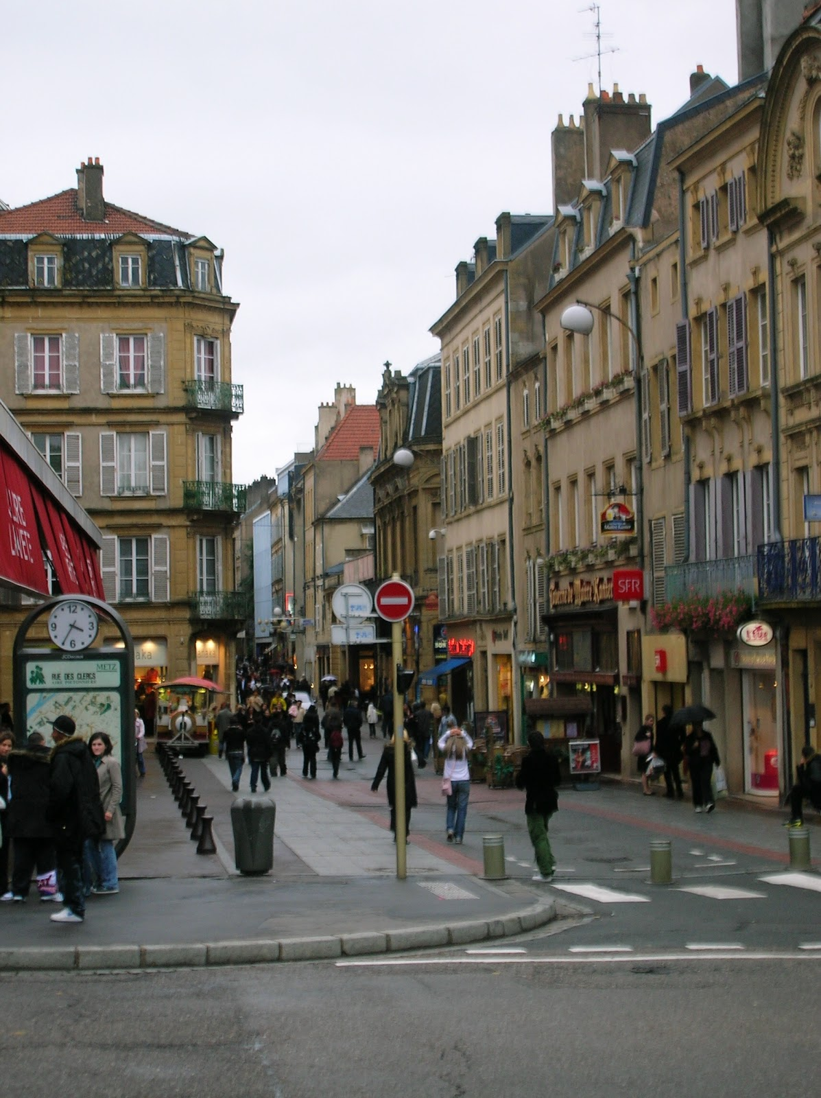 Top world travel destinations metz france for Maison d en france metz