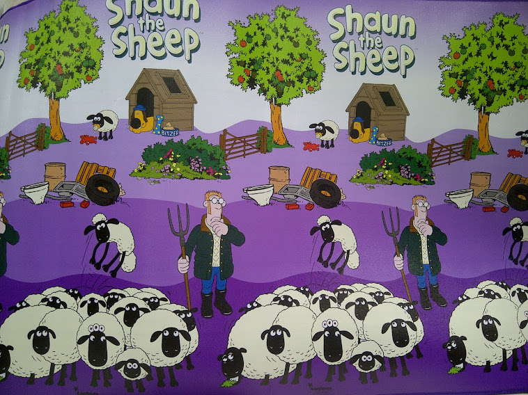 "TIKAR DISNEY ""SHAUN THE SHEEP"""