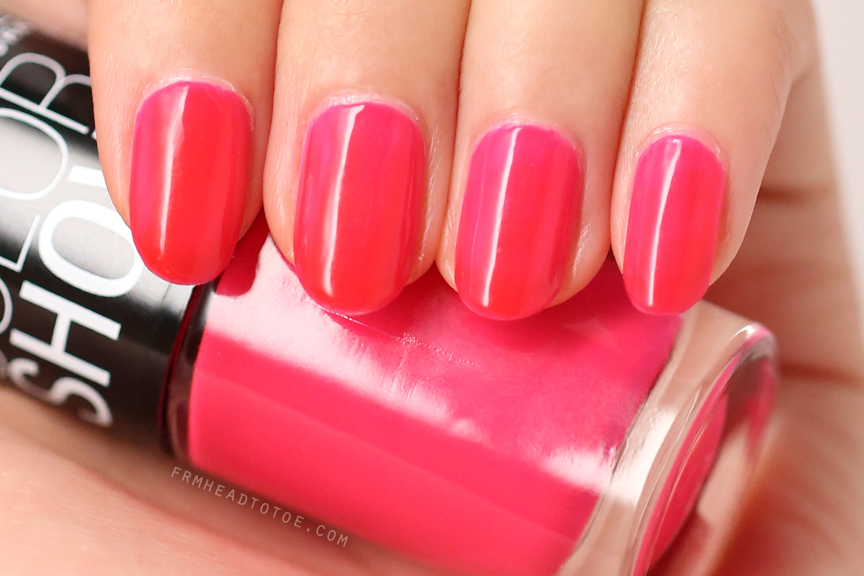 Manicure Monday Maybelline Color Show In Pink Shock 200
