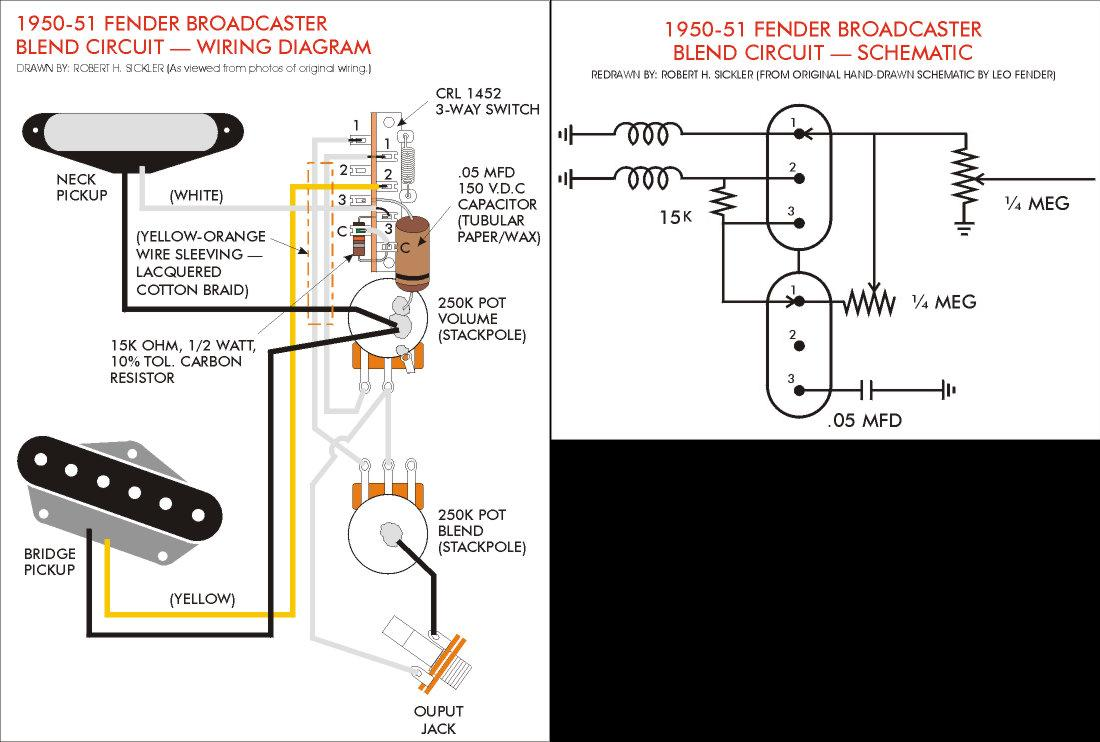 1970 telecaster wiring schematic 1970 automotive wiring diagrams broadcaster blend telecaster wiring schematic broadcaster blend