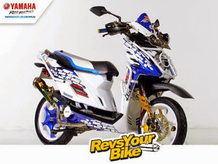 juara modifikasi motor Yamaha