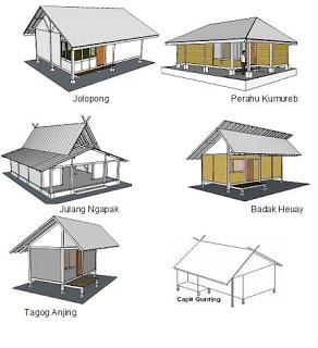 desain rumah tradisional sunda: Budaya sunda rumah adat tradisional suku sunda