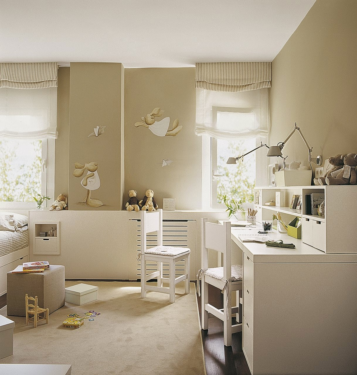 Un faro de ideas habitaciones infantiles - Habitacion para 2 ninos ...