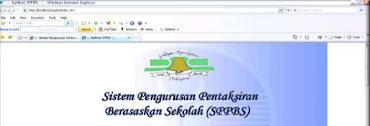 SPPBS Tahun 1网上评估
