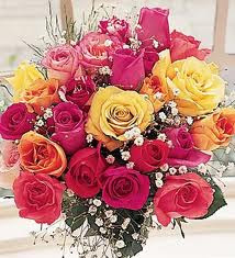باقة ورد هدية لكل زائر كريم اهلا وسهلا