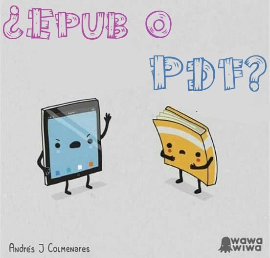 ¿Epub o PDF?