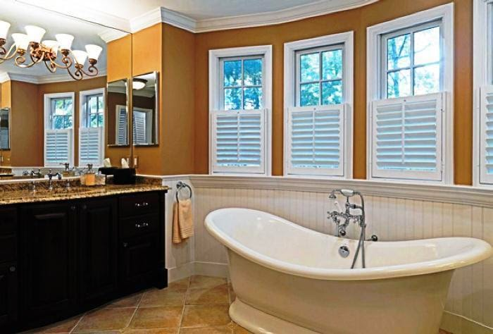 wall paint colors for bathrooms