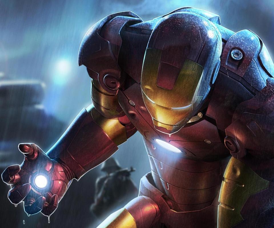 【Android 壁紙】高画質(960×800) 映画-アイアンマン(Iron Man)