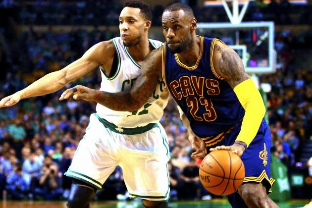 2015 NBA Playoffs - Cavaliers vs. Celtics Game 3 Score