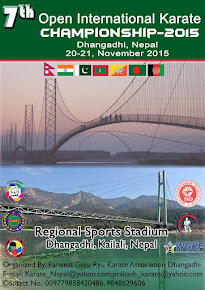 7th open international karate championship 2015