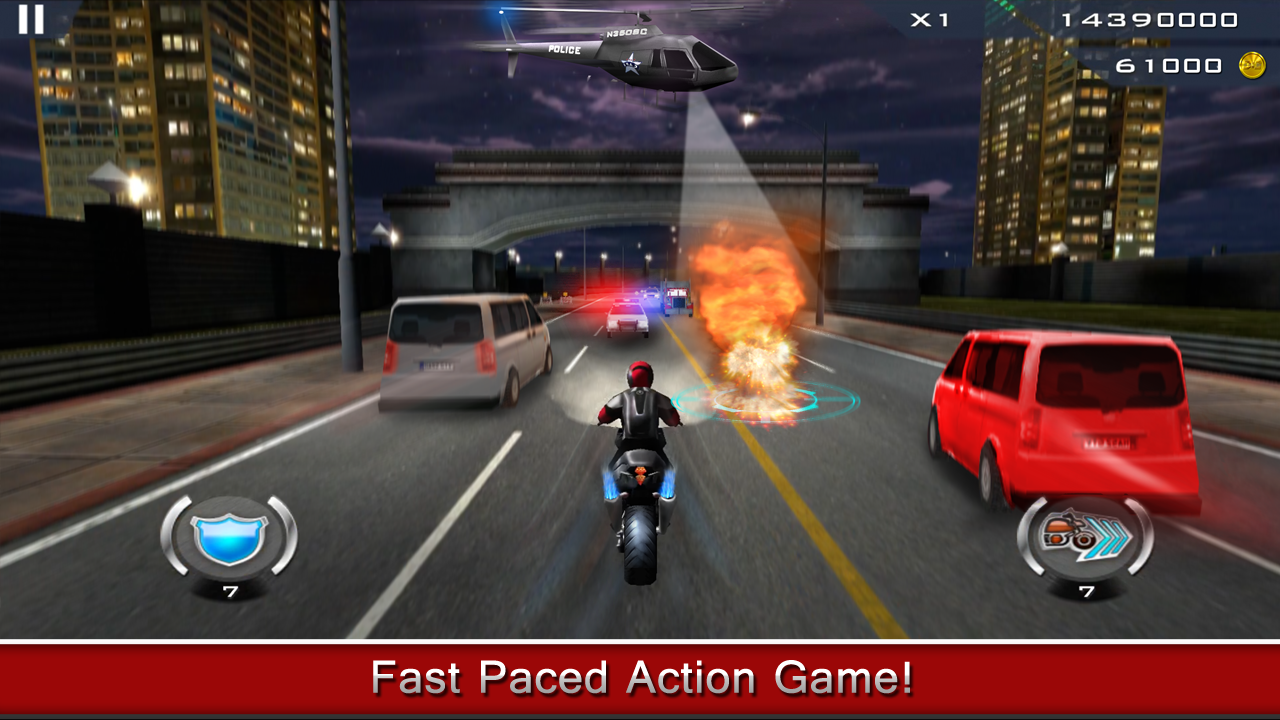 Dhoom:3 The Game v1.0.8 Mod (Unlimited Coins) APK+DATA