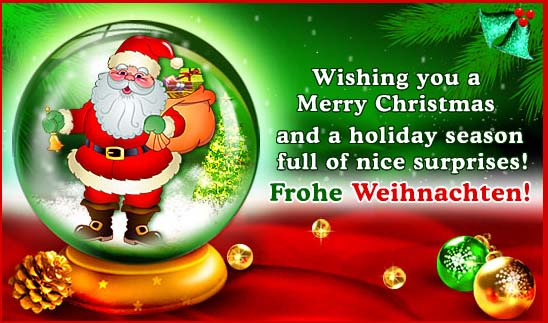 Happy New Year And Merry Christmas in German   Happy New Year 2017