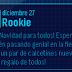 Mensaje EPF: Rookie nos desea felices fiestas!