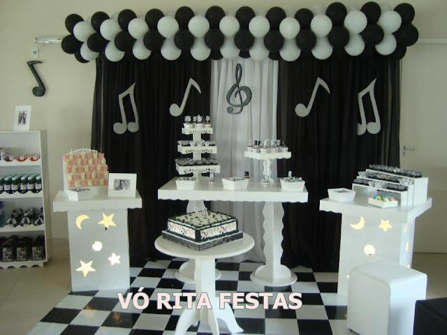 Festa Notas Musicais Elo7 Picture