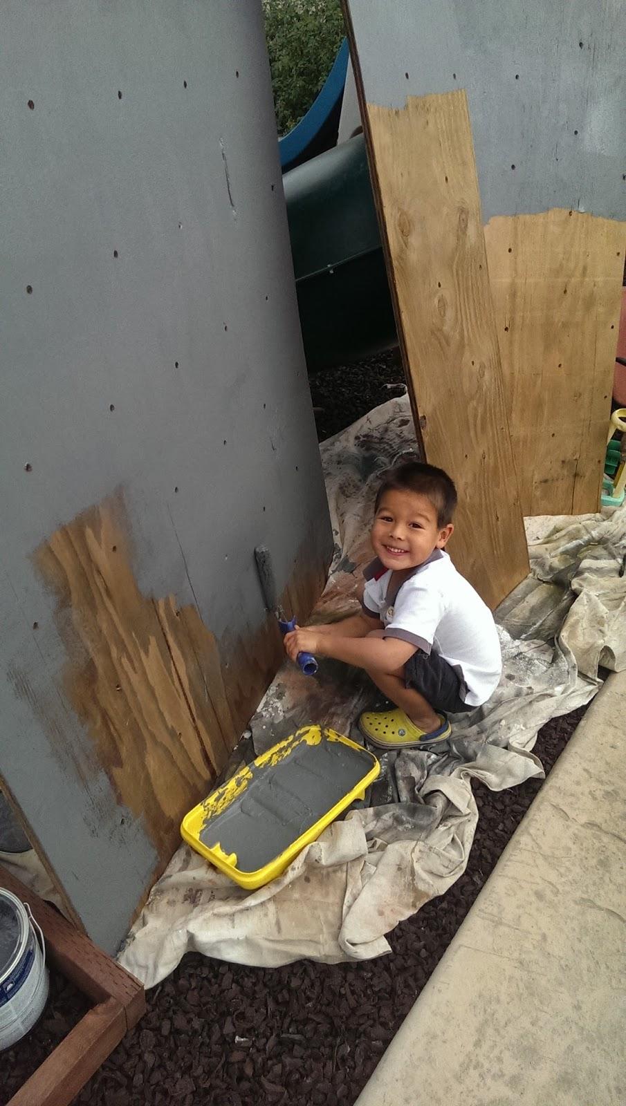 makermonkey backyard climbing wall