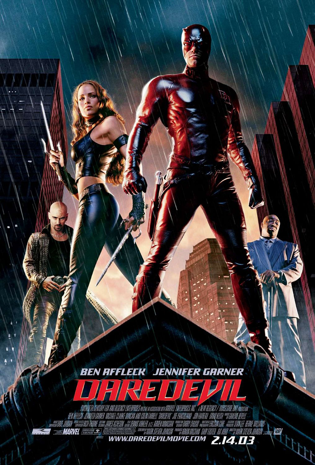 Daredevil movie cover