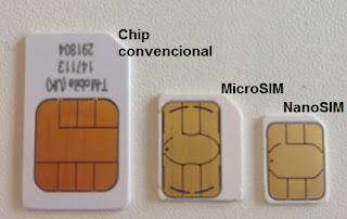 MicroSIM e NanoSIM