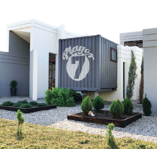 Safari Fusion blog | Ship it [part 1] | Reuse, recycle and upcycle is the mantra of this shipping container residence in Pretoria East, South Africa