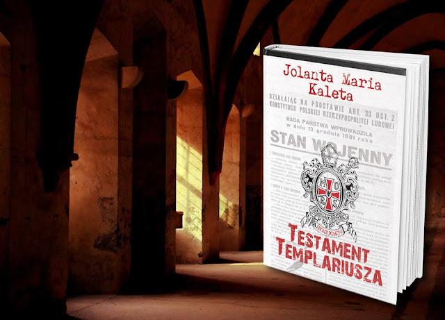 """Już niebawem """"Testament Templariusza"""" pod patronatem medialnym """"Subiektywnie o książkach"""""""